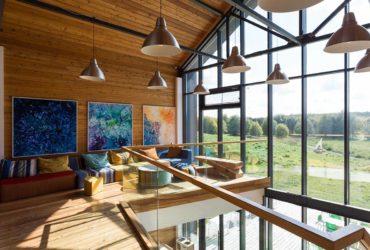 Eco Park Yasno Pole Tula Greenhouse Hotel Interior and View, фото