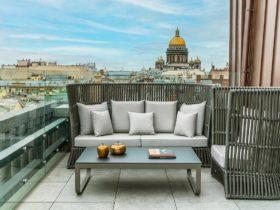 Hotel Wawelberg Saint Petersburg Terrace Suite Terrace View, фото