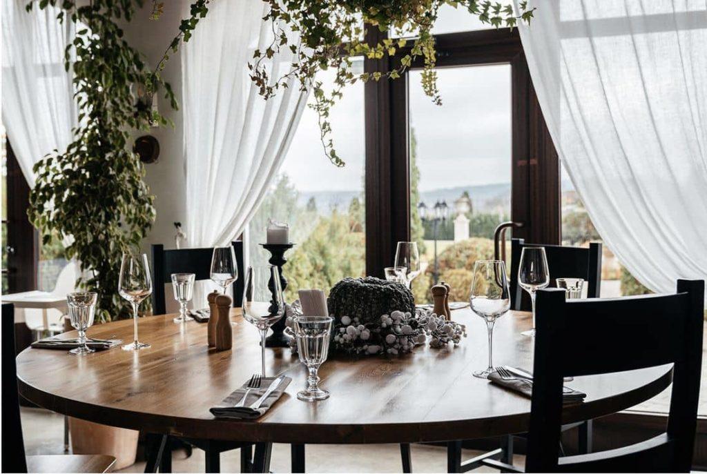 Restaurant Amphora Lefkadia Valley Winery Interior, фото