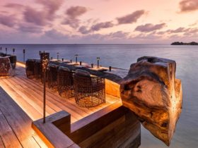 Resort Joali Maldives Restaurant Saoke Terrace, фото