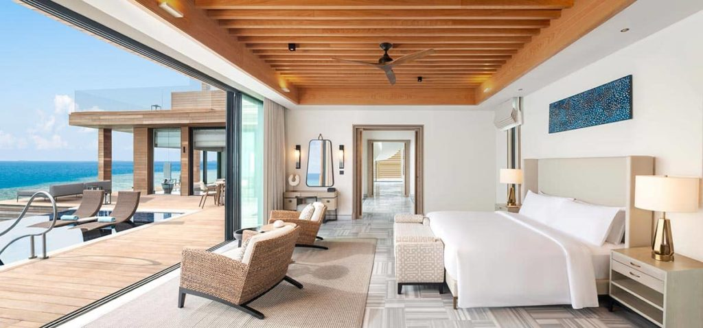 Waldorf Astoria Maldives Ithaafushi представил суперэксклюзивные виллы Stella Maris