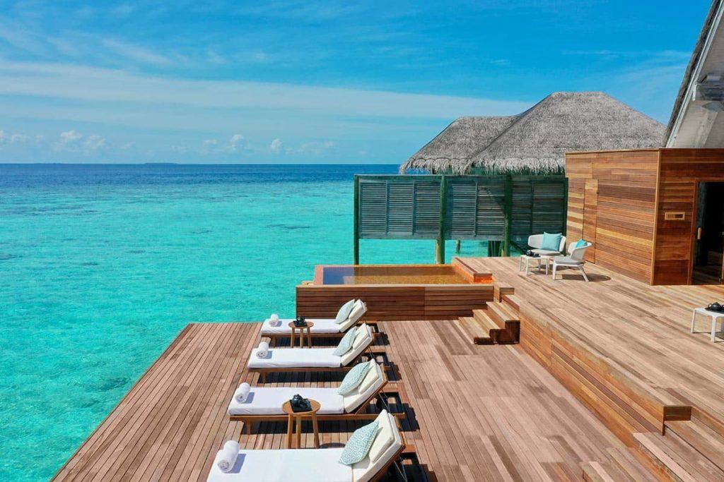 Resort Anantara Kihavah Maldives Villas Spa Relaxation Deck, фото