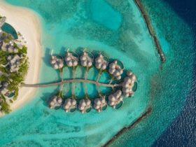 Hotel The Nautilus Maldives Water Villas Aerial View, фото