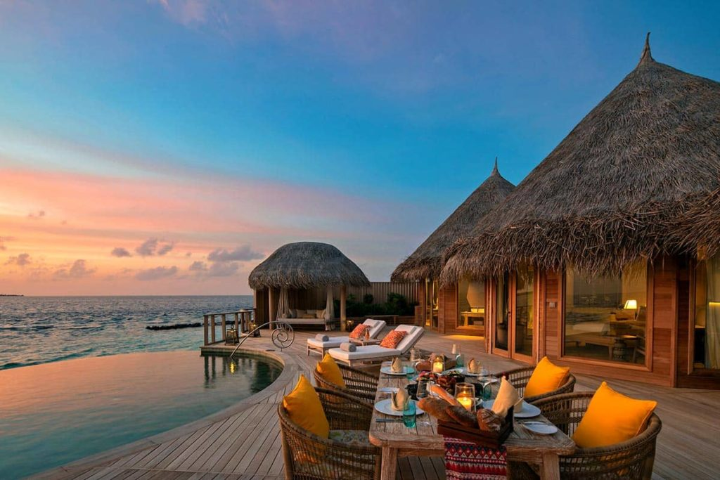 В The Nautilus Maldives начался сезон мант