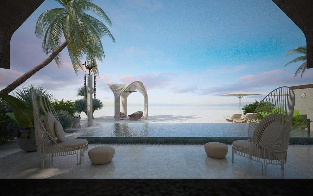 Retreat Joali Being Maldives Two Bedroom Retreat Villa Terrace, фото