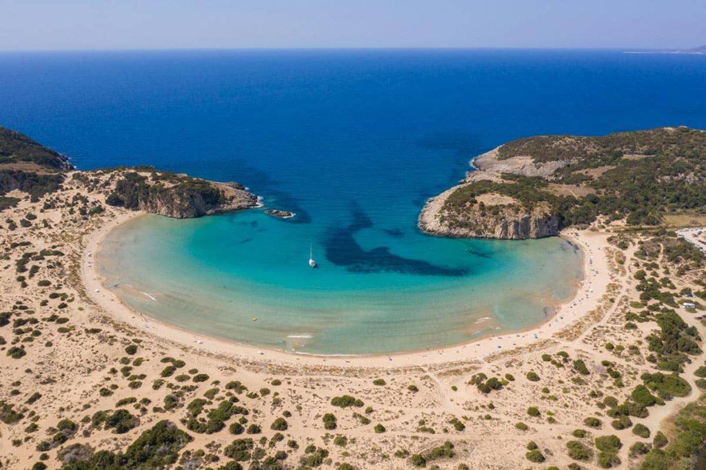 Resort Costa Navarino Voidokilia Beach, фото
