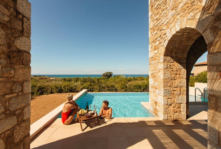 Resort Costa Navarino Residence with Privat Pool, фото