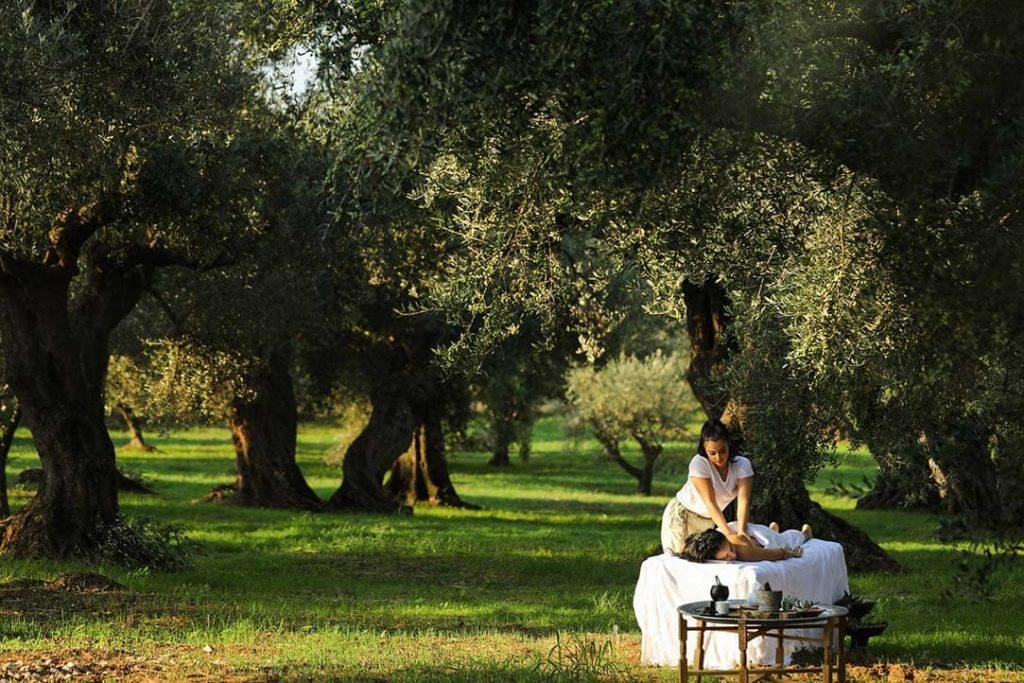 Resort Costa Navarino Anazoe Spa Ritual under Olive Trees, фото