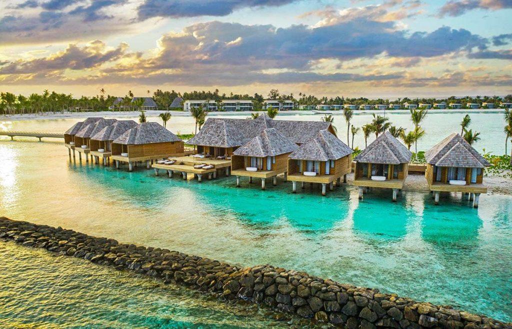 Resort Kuda Villingili Maldives Spa Center Exterior, фото