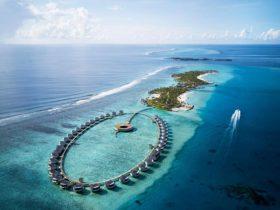 Hotel The Ritz-Carlton Maldives, Fari Islands Aerial View, фото