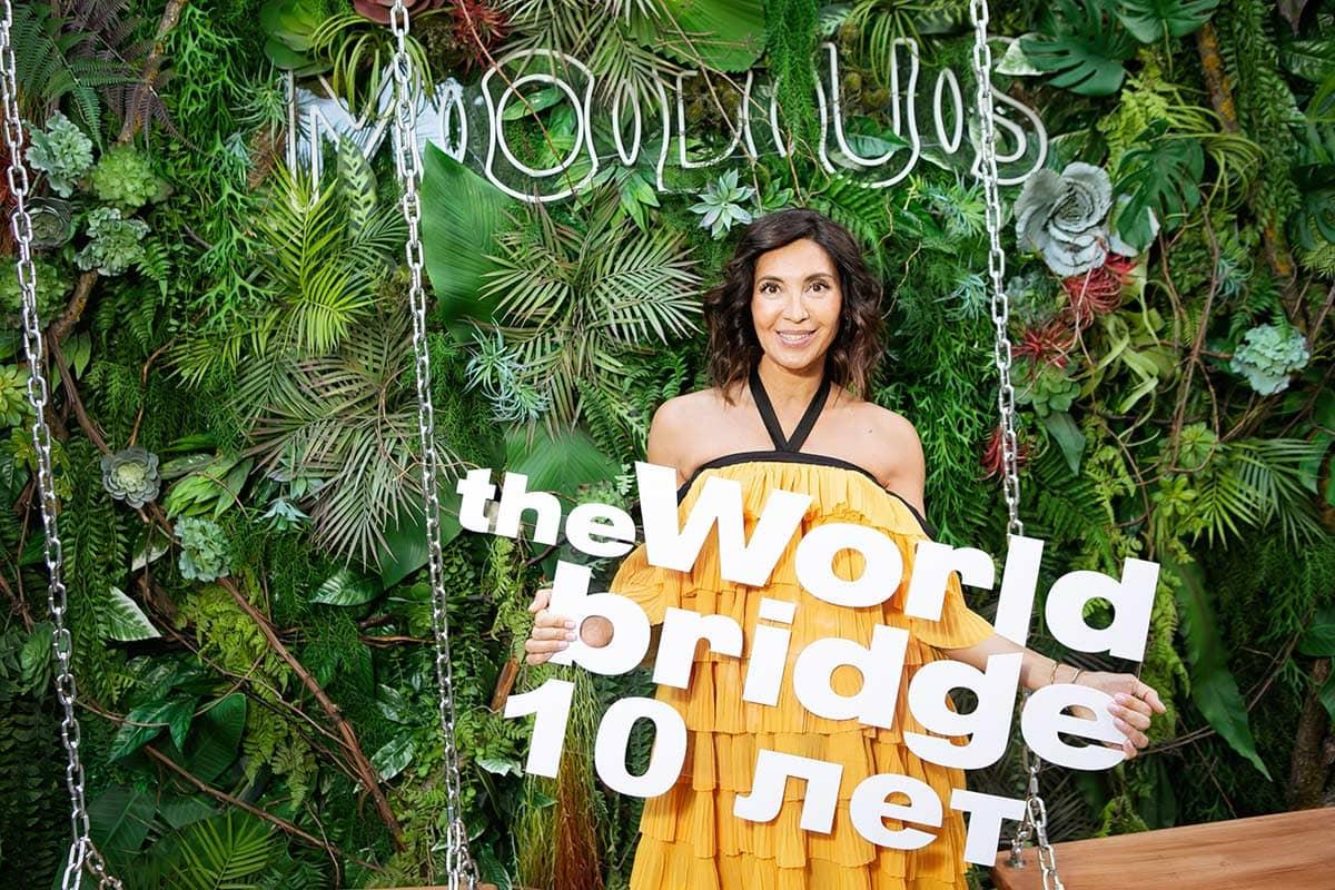 Lara Lychagina at The World Bridge Magazine Annyversary Party, фото