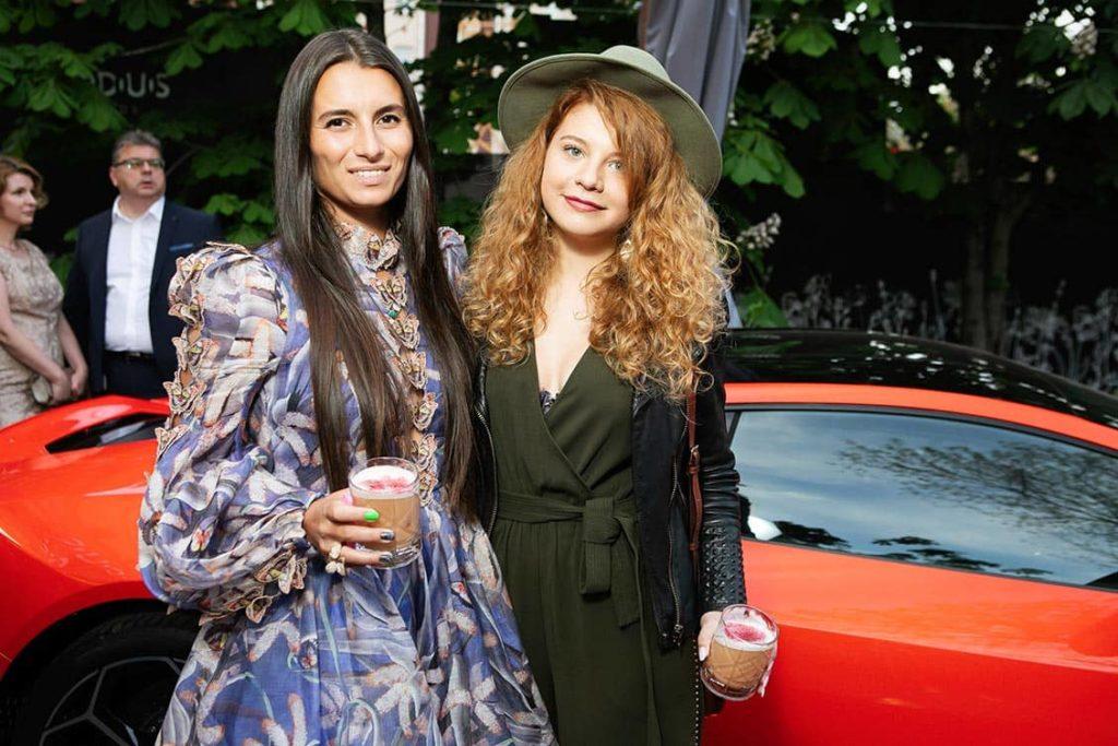 Silviya Naishuller and Mariya Parfyonova at The World Bridge Magazine Annyversary Party, фото