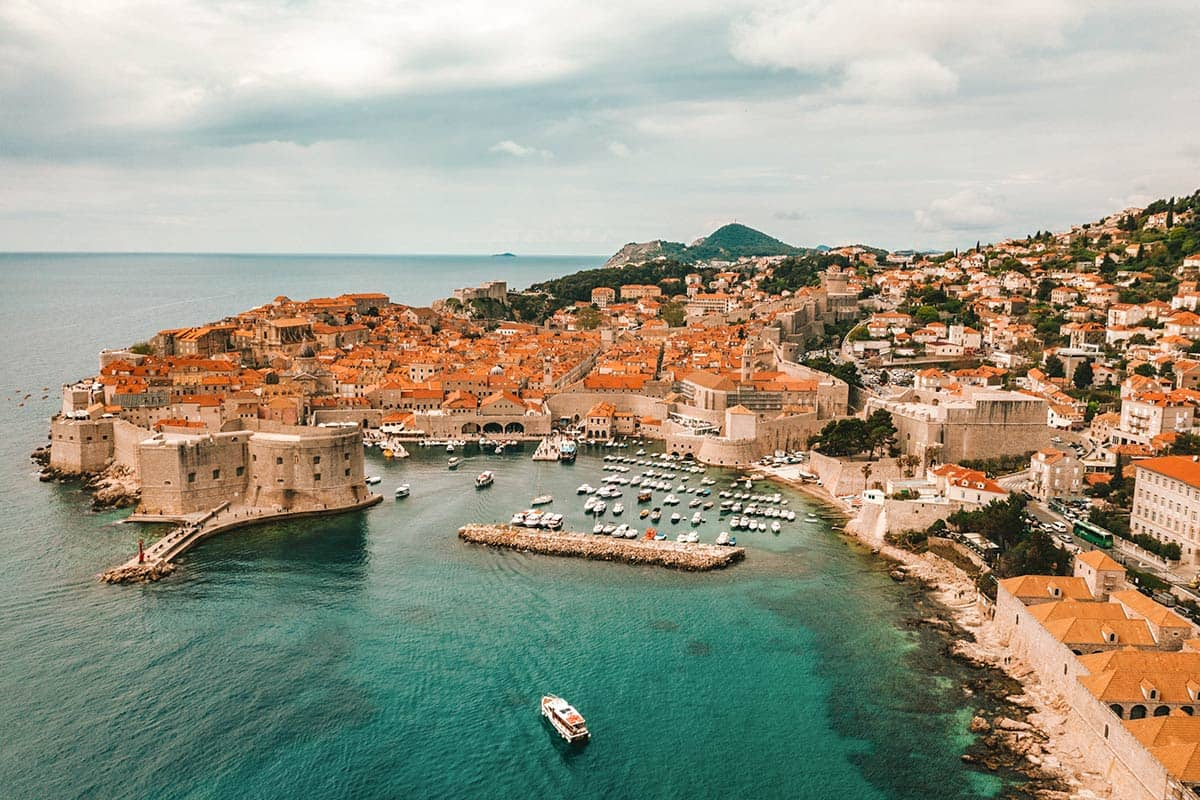 Город Дубровник в Хорватии, фото