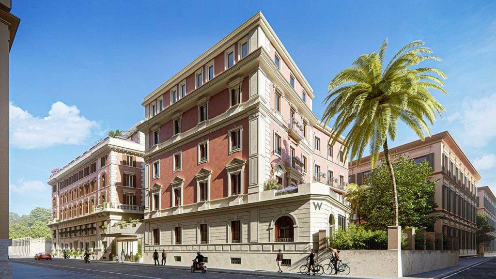 W Hotels дебютирует в Италии: осенью открывается W Rome