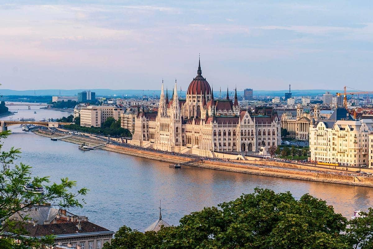 Вид на Будапешт, фото