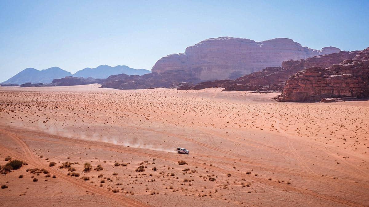 Пустыня в Иордании, фото