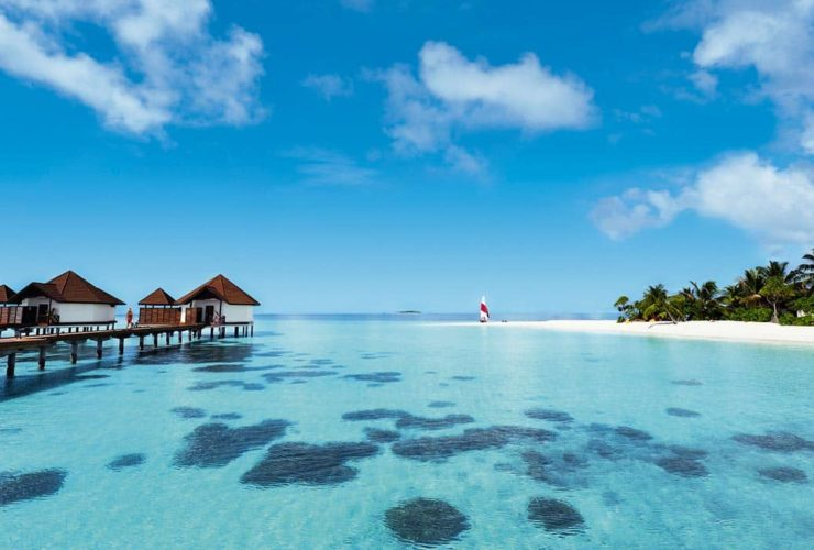 Водные виллы на Мальдивах, фото