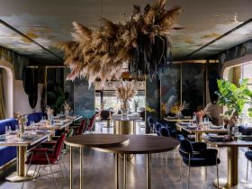Интерьер ресторана «Ривьера» на курорте Riviera Wellness Resort в Белгороде, фото