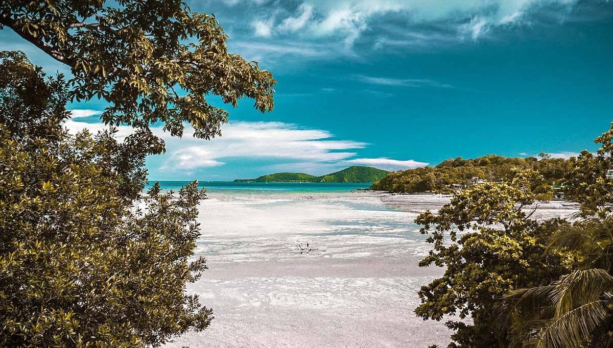 Пляж в Пхукете, фото