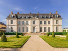 Отель Château du Grand-Lucé в долине реки Луары, Франция, фото
